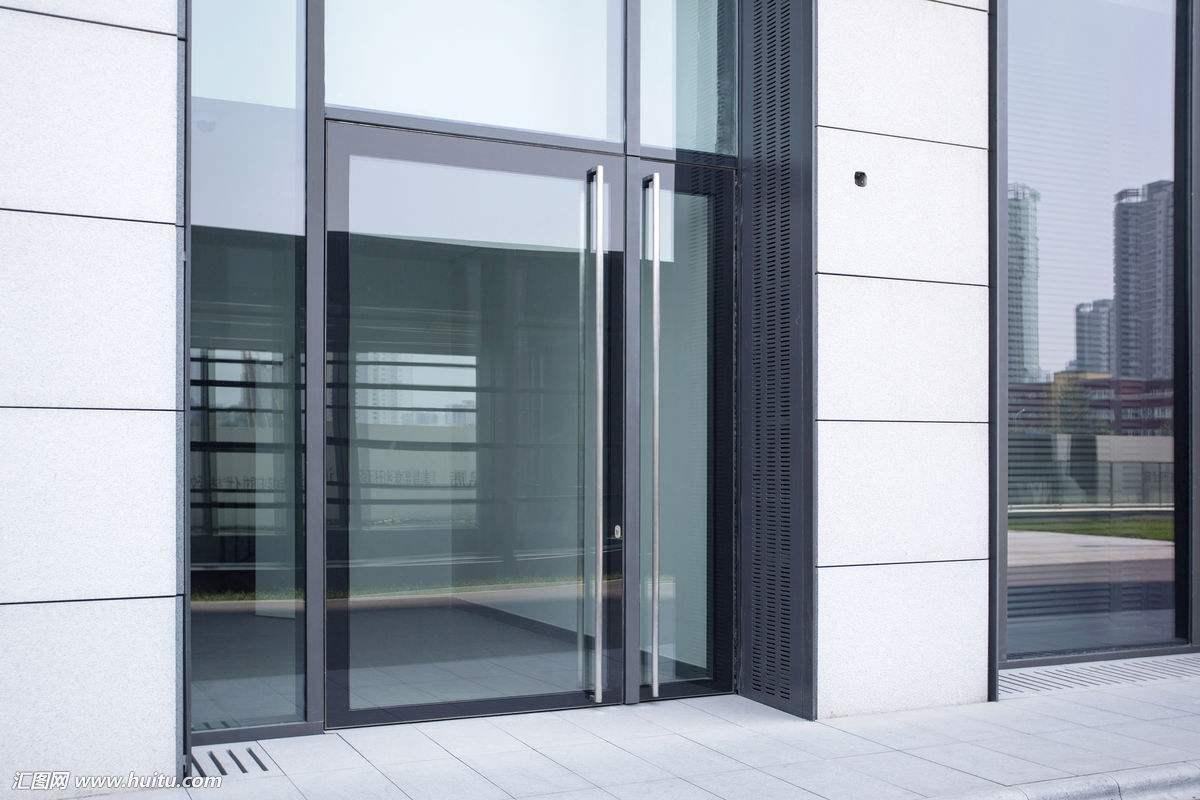 无框玻璃门