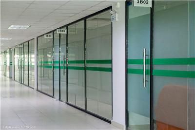 钢化玻璃门