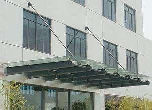 钢构玻璃雨棚