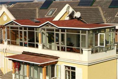 钢结构玻璃阳光房