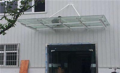 郑州不锈钢玻璃雨棚