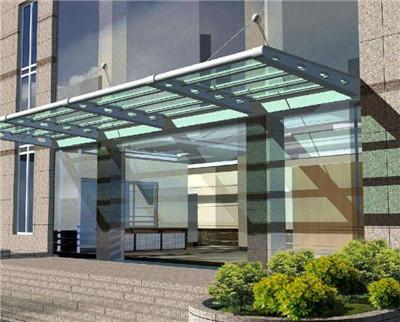 河南玻璃阳台雨棚