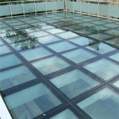郑州玻璃采光棚