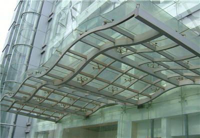 河南不锈钢玻璃雨棚