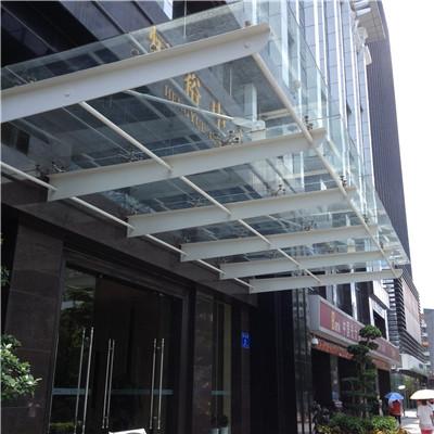 河南玻璃雨棚施工