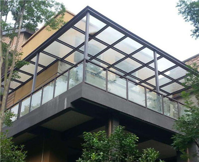 钢化玻璃雨棚厂家
