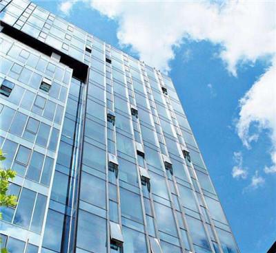 郑州高楼玻璃幕墙