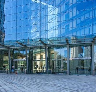 河南大厦玻璃幕墙