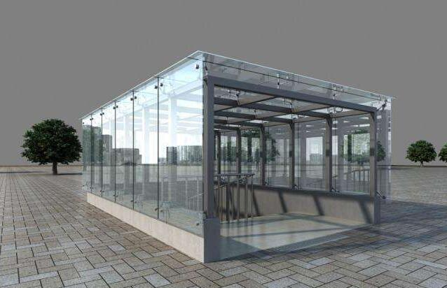 河南玻璃雨棚厂家
