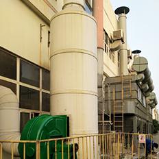 环保流水线有毒气体环保设备制作塔