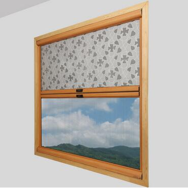 复合式回卷隐形纱窗