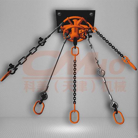 360°链条倒挂系统装置
