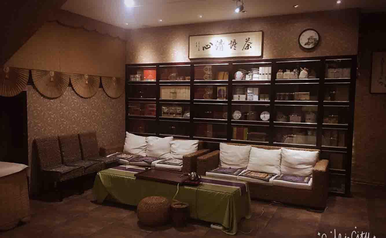 中国藏茶馆文化