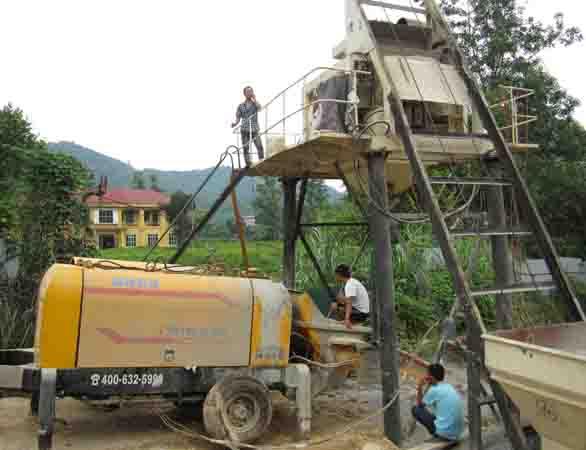黔南贵州混凝土输送泵出租