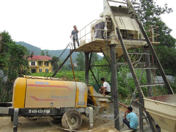 贵州混凝土输送泵出租