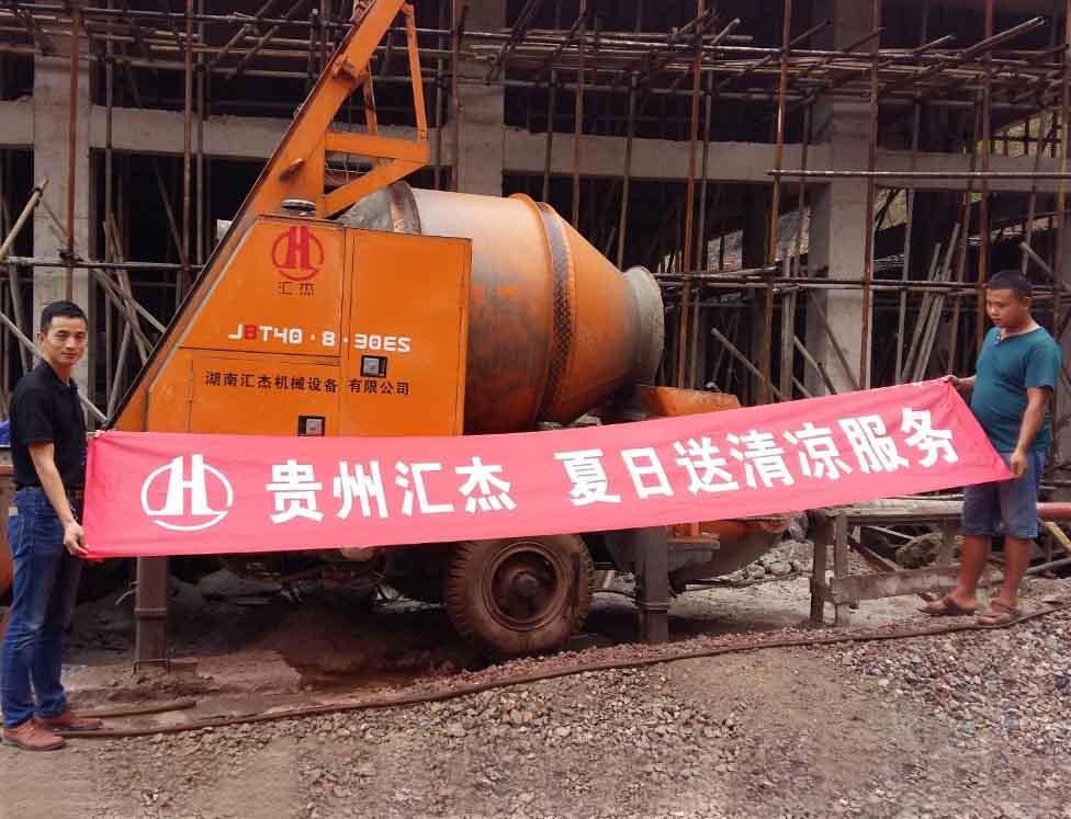 黔东南搅拌拖泵租售