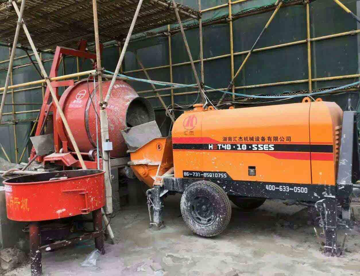 贵阳细石砂浆泵租赁