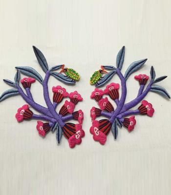 绣花标生产