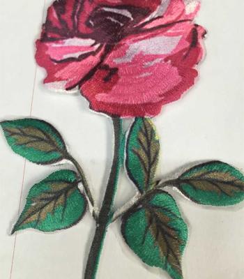 绣花标设计