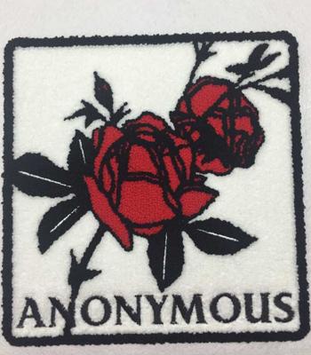 Dongguan towel embroidered badge