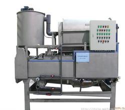 带式浓缩脱水一体压滤机调试