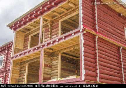 藏式木屋建造
