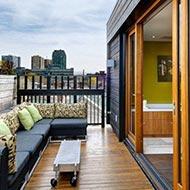 阳台休闲家具
