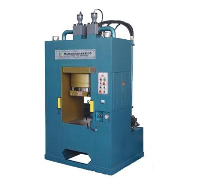 框架上移式液压机