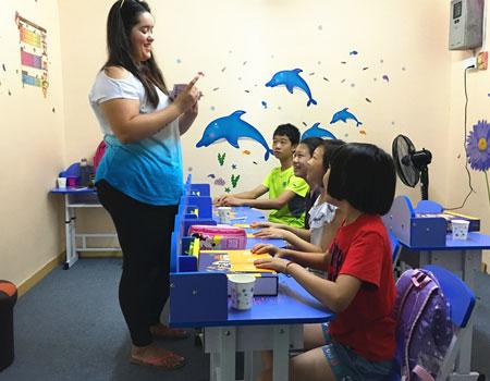 东城小学英语口语培训