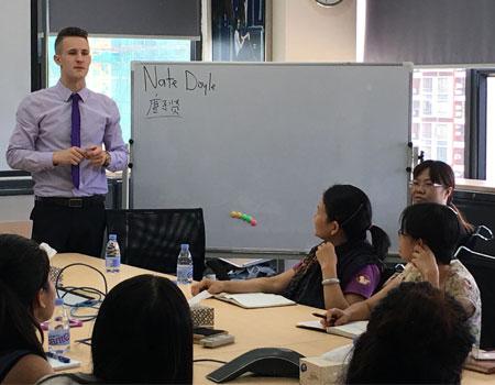 东莞企业外教英语培训