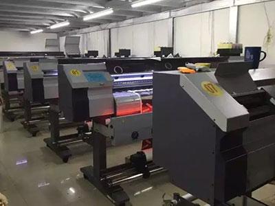 彩色数码印花机