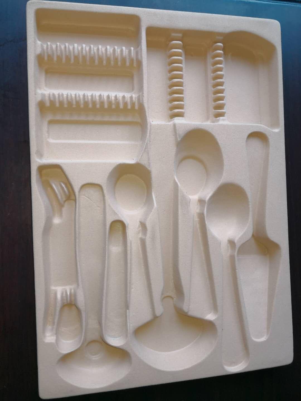 金属餐具的包装内托
