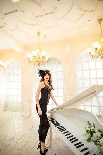 斐妮丝奢华系列(黑色)-束裤