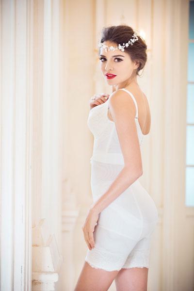 斐妮丝钻石系列(白色)-束裤
