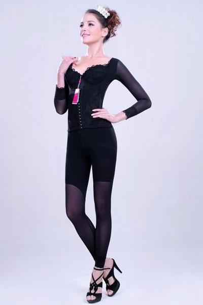 斐妮丝梦幻系列(黑色)-长腰背夹