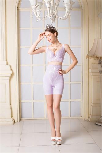 美丽经典紫色短裤