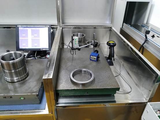 铁路客车轴承检修数据采集工位系统