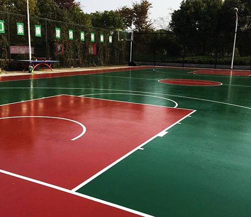 贵州学校篮球场工程