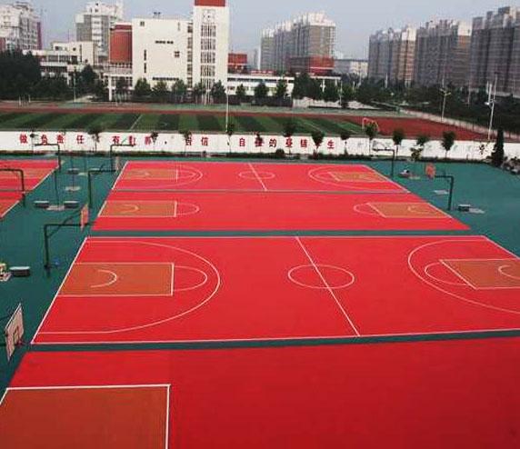 贵州PU篮球场