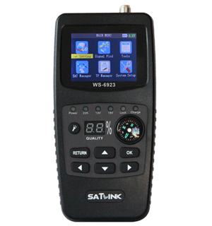 High-precision digital satellite finder meter