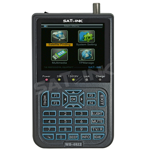 HD digital satellite finder meter