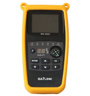 Digital satellite finder meter import
