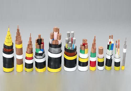 各种电缆样品