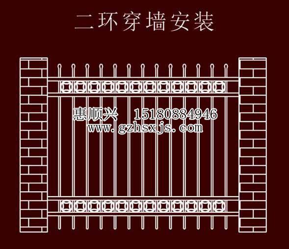 贵州锌钢栏杆
