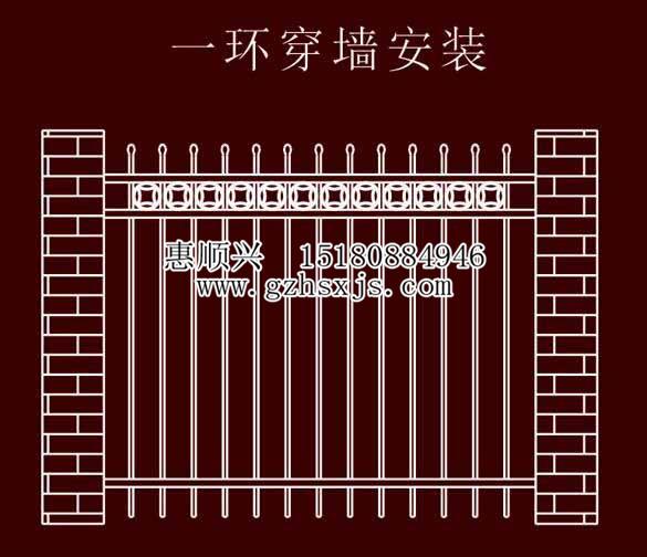 贵阳锌钢栏杆