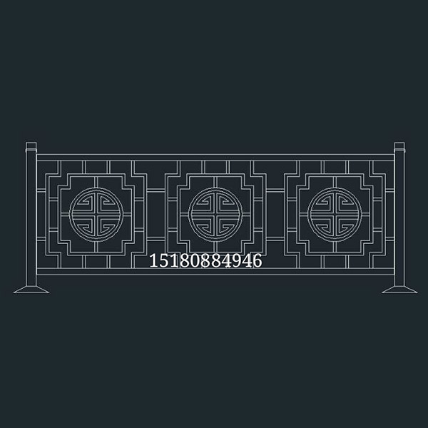 贵州市政街道栏杆