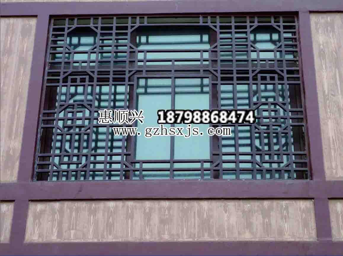贵州仿古护窗安装