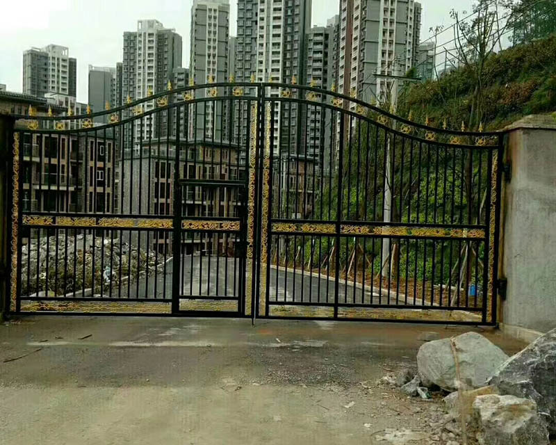 贵州铁艺大门安装