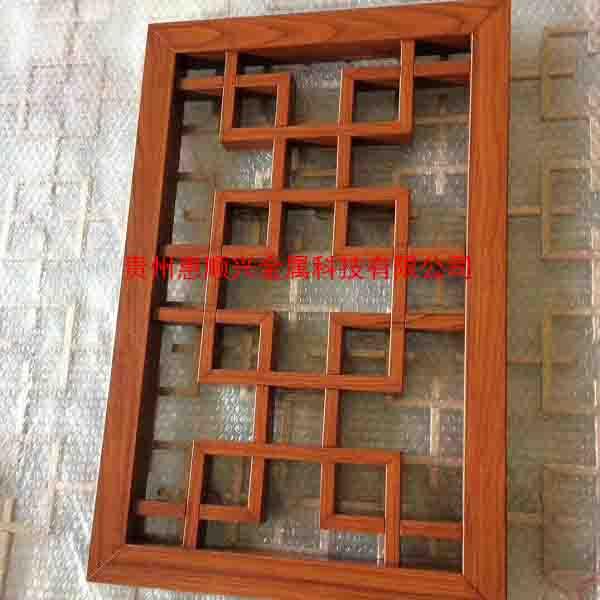 贵州木纹转印花窗