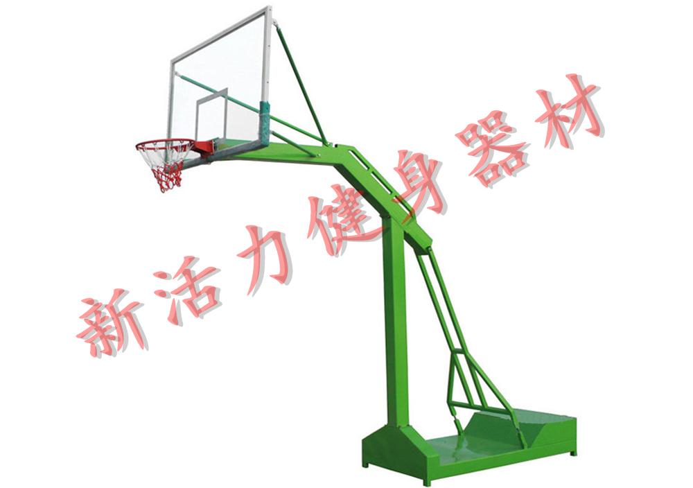 移动凹厢篮球架